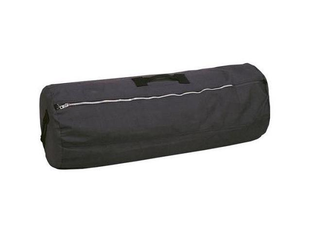 Stansport Duffle Bag with Zipper - Black - 25