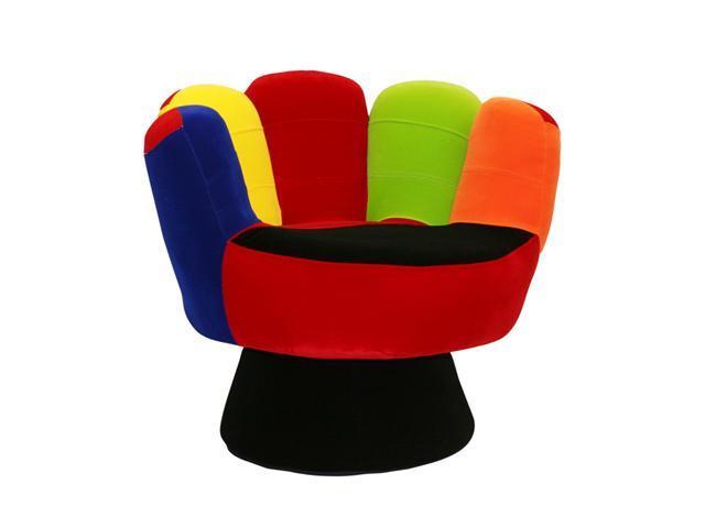 LumiSource CHR-MITT3529-V Mitt Chair Regular Size Multi - OEM