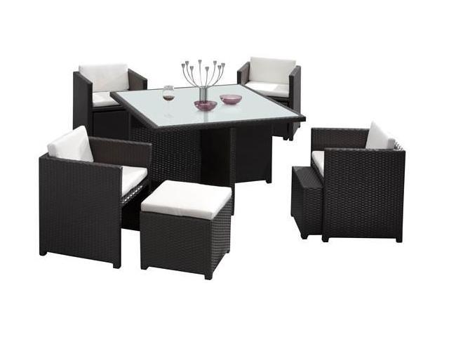 Zuo Modern 701210 Naples Table Set Espresso