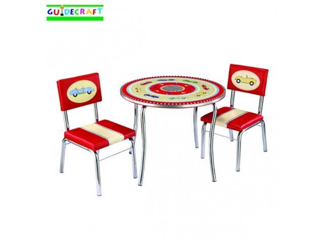 Retro Racers Table & Chairs Set - by Guidecraft