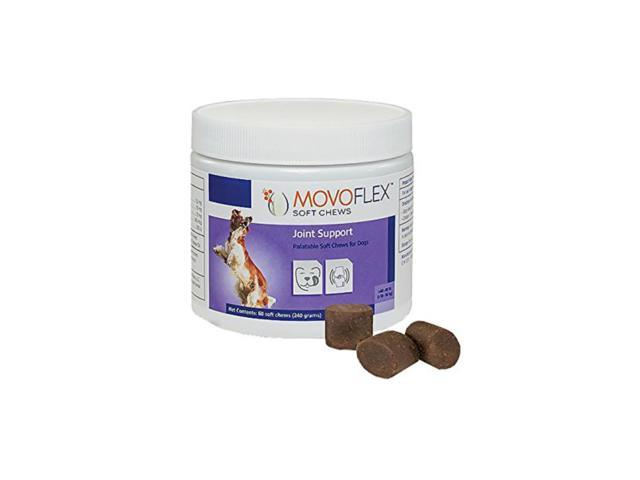 MovoFlex Joint Soft Chews for Small Dogs Up to 40lbs by Virbac (60 Chews)