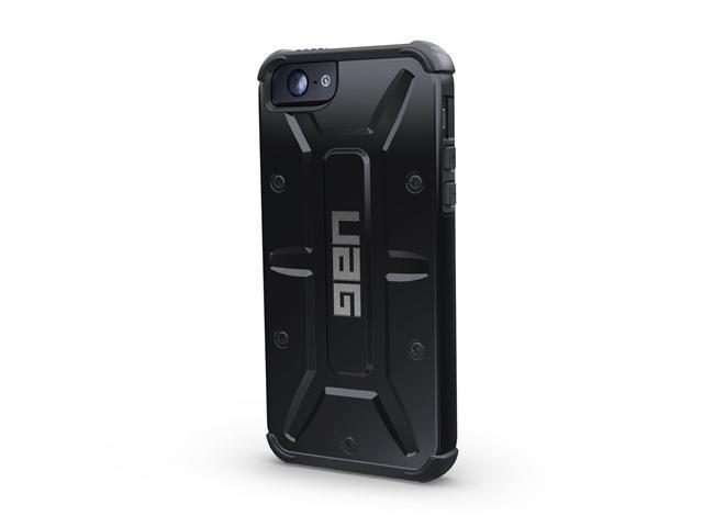 UAG Scout Black Case For iPhone 5 UAG-IPH5-BLK/BLK-W/SCRN-VP