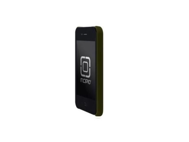 Incipio For Iphone 4 Ultra Thin Feather Hard Case Olive