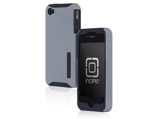 Incipio SILICRYLIC Dark Gray / Light Gray Hard Shell Case w/ Silicone Core for iPhone 4 / 4S IPH-633