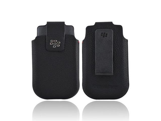 Blackberry Leather Swivel Holster for BB Torch 2 9810 (HDW-31012-001)