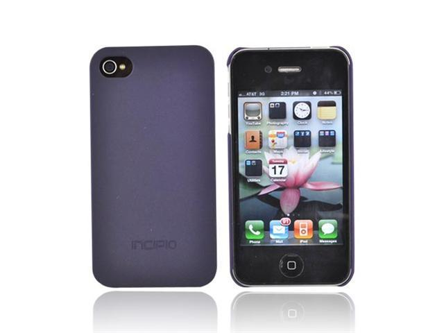 Incipio For Iphone 4 Feather Hard Thin Case Dark Purple