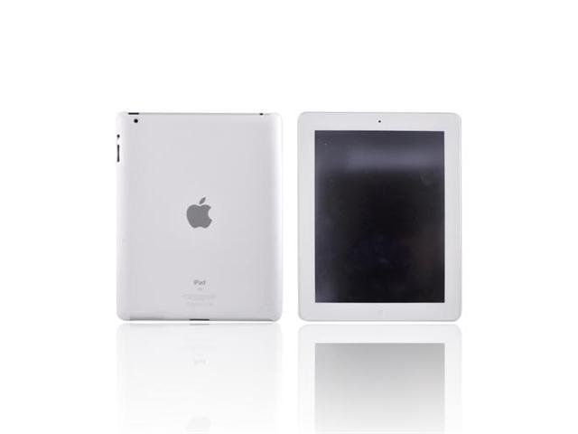 Frost White OEM Incipio Feather Rubberized Hard Case w Screen Protector For Apple iPad 2