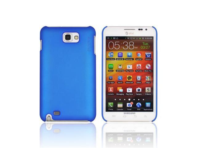 Blue OEM Incipio Feather Ultra Thin Hard Rubberized Case, SA-251 For SAmsung Galaxy Note
