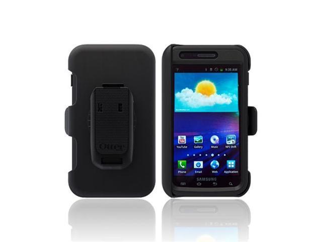 Black OEM Otterbox Defender Hard Case W Holster & Screen Protector, Sam2-i727x-20-e4otr For Samsung Galaxy S2 Skyrocket