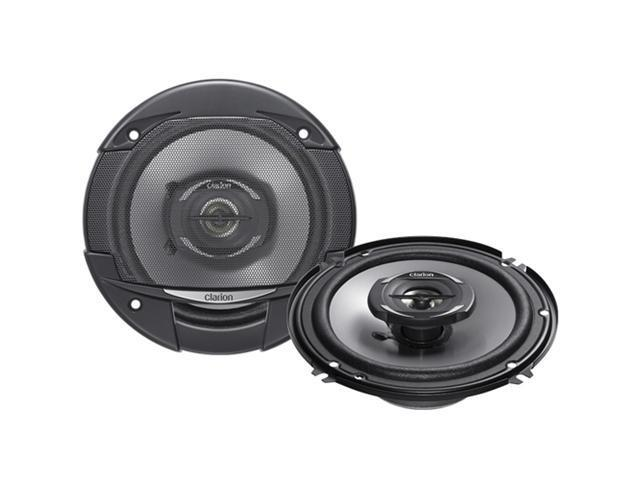 Clarion SRG1622R G Series Coaxial Speaker System - 6.5 in.; 250W Max; 35W Rms; 1 in. Metallized Pei Balan