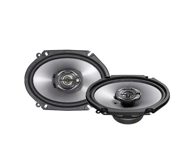 "Clarion SRG6832C 6"" x 8"" 300 Watts Peak Power Coaxial Car Speakers"