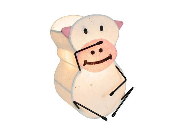 LumiSource Murray the Monkey Night-Time Pals Lamp Beige