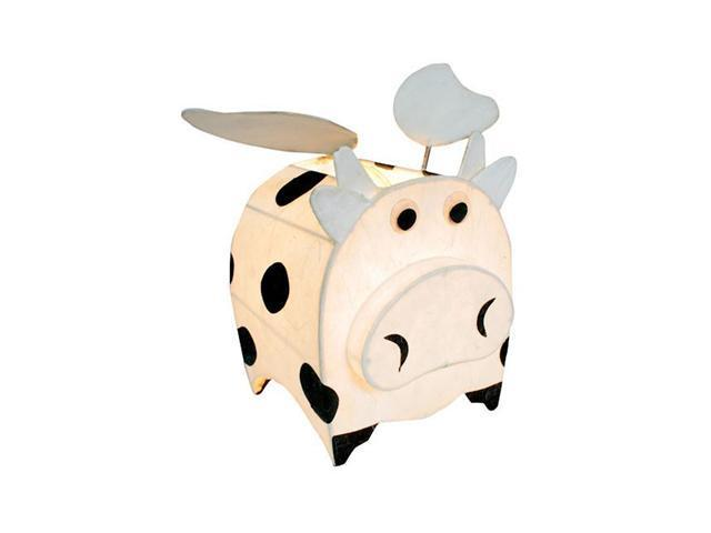 LumiSource Cosmo the Cow w/ Wings Night-Time Pals Lamp Beige - OEM