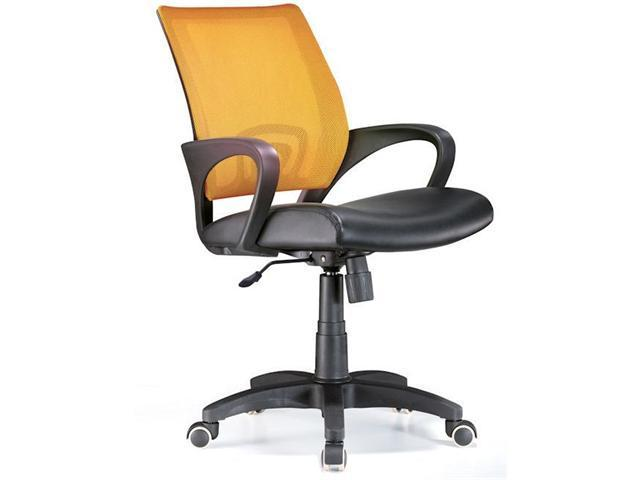 LumiSource OFC-OFFCR TNG Officer Office Chair Tangerine