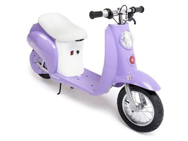 Pocket Mod Miniature Euro Electric Scooter - Purple