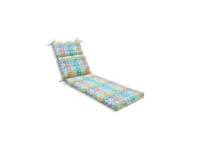 Aqua Chaise Lounge Cushions Of 72 5 Funfetti Electric And Aqua Marine Blue Decorative