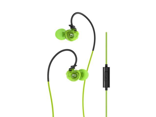 Mee audio Sport-Fi® M3P In-Ear Headphones with Memory Wire and Inline Microphone and Remote
