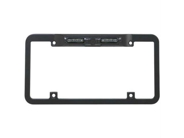 Boyo VTL300CIR Zinc Metal Full Frame License Plate Camera (Black)