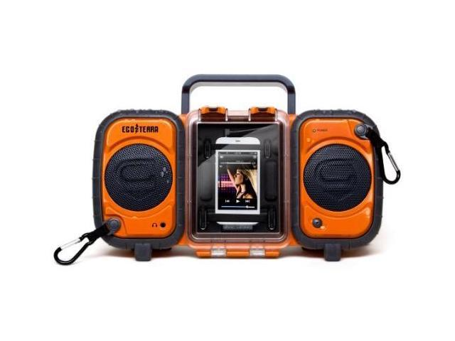 Grace Digital GDI-AQ2SI60 ECOXGEAR Rugged and Waterproof Stereo Boombox