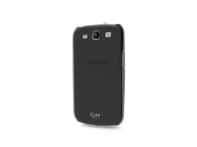 Black Overlay Minimal Snap-On Shell for Samsung Galaxy S« III