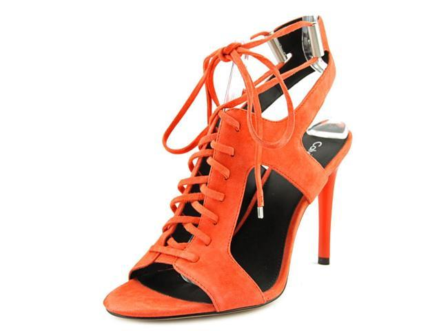 Calvin Klein Santos Women US 6 Orange Heels