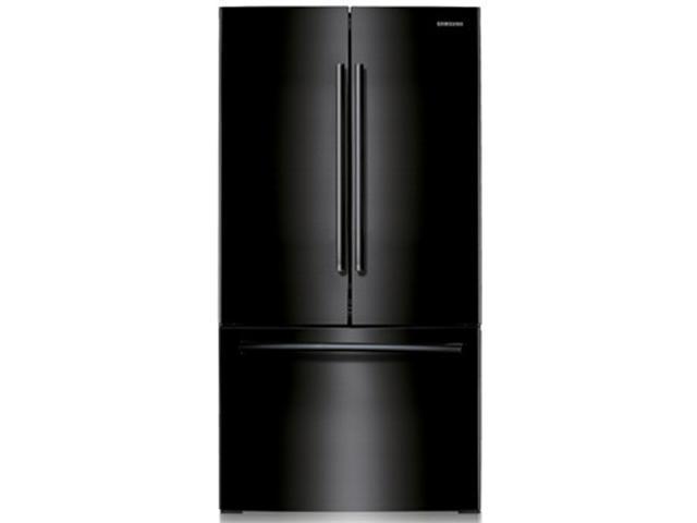 Samsung RF221NCTABC 21.6 cu. ft. 30-Inch French Door Refrigerator w/ Ice Maker, Black