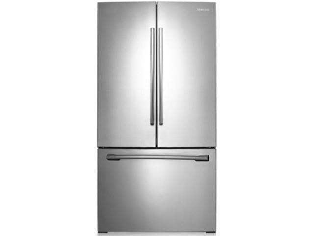 Samsung RF221NCTASP 21.6 cu. ft. 30-Inch French Door Refrigerator w/ Ice Maker, Stainless Platinum