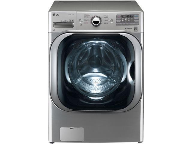 """29"""" Front Load Steam Washer with 5.1 cu. ft. Capacity, 14 Washing Programs, 5 Temperature Settings, TurboWash and Steam Technology: ..."""