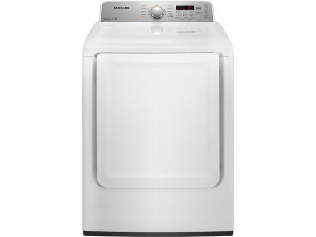 """27"""" Gas Dryer with 7.2 cu. ft. Capacity, 9 Drying Cycles, Sanitize Cycle, 5 Options, 3 Temperature Settings and Sensor Dry"""