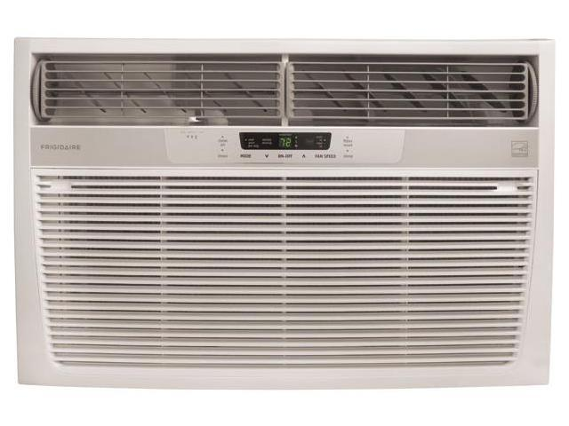 25,000 BTU Room Air Conditioner with 1,672 sq. ft. Cooling Area, 9.4 Energy Efficiency Ratio, Remote Temperature Control ...