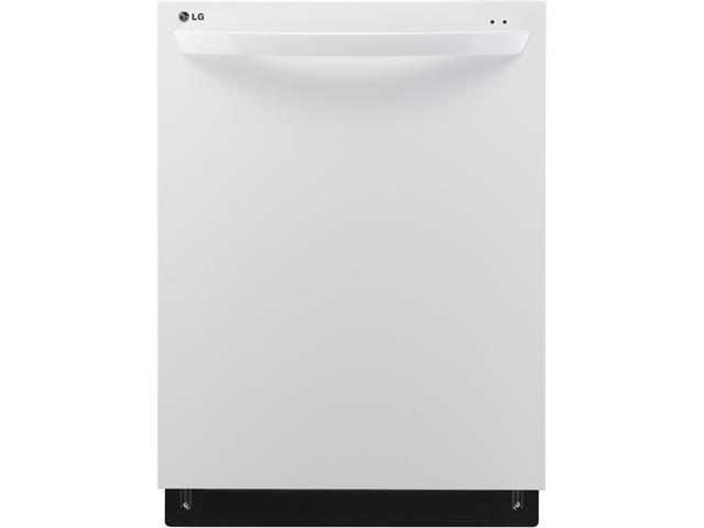 Fully Integrated Dishwasher with 14-Place Settings, 7 Wash Cycles, Dual Wash Cycle, Sanitary Rinse, 3-Stage Filtration, SenseClean, LED Display and 48 dBA: Smooth White