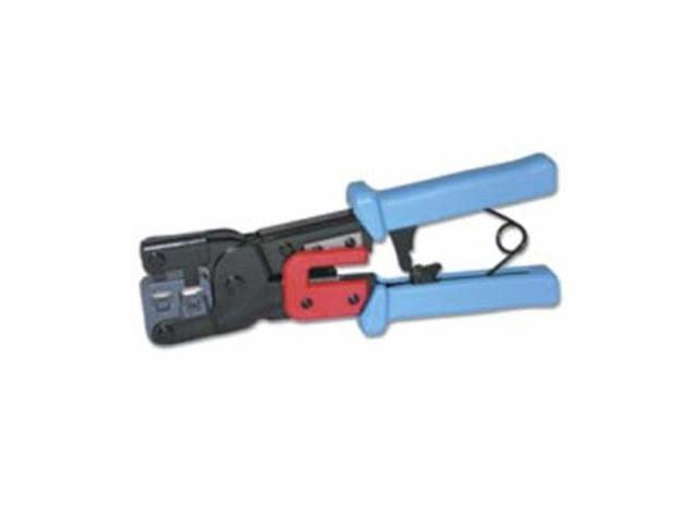 C2G 19579 RJ11/RJ45 Crimping Tool with Cable Stripper