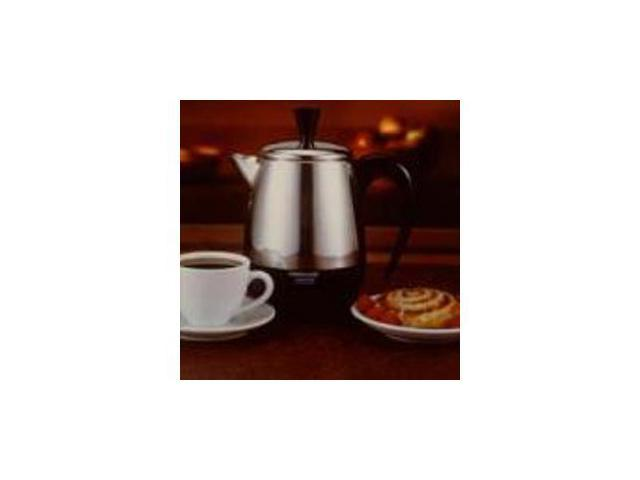 FARBERWARE FCP240 Stainless Steel 2-4 Cup Percolator