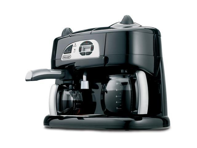 Delonghi Coffee Maker Thailand : DeLonghi BCO130T Coffee and Espresso Maker Black - Newegg.com