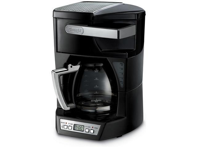 DeLonghi DCF212T Black 12-cup Coffee Maker With Front Access