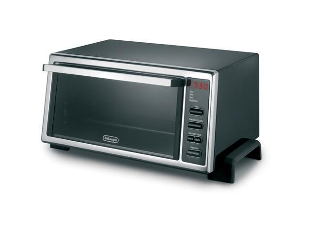 DeLonghi DO400 Black Digital 4-Slice Toaster Oven