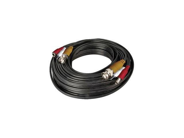 Night Owl CAB-100A 100 ft. BNC Video/Power/Audio Camera Extension Cable with Adapters