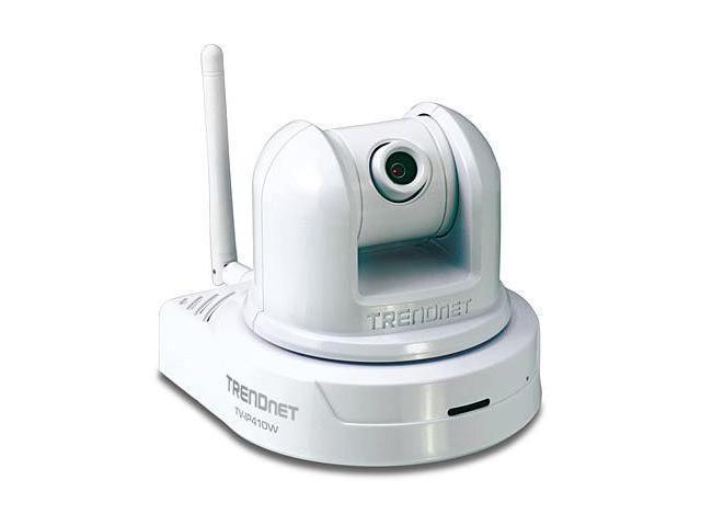 TRENDnet TV-IP410W 640 x 480 MAX Resolution RJ45 SecurView Wireless Pan/Tilt/Zoom Internet Camera