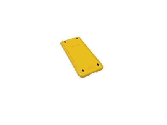 Texas Instruments Color Slide Case - Supports Calculator - Yellow