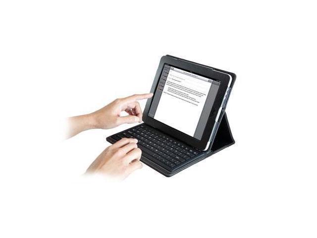 Kensington K39336US KeyFolio Bluetooth Keyboard for New iPad, iPad 2 & iPad 1 Black