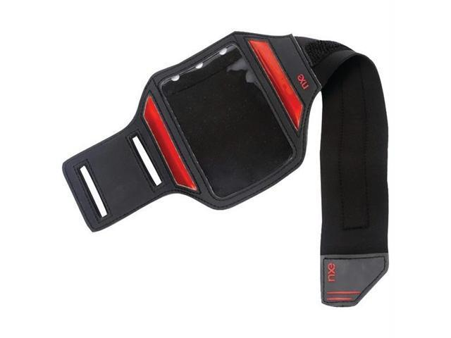 NXE EX-AND-BAN-2 Nxe ex-and-ban-2 activeband reflective sport band for android(tm) phones (black/red)