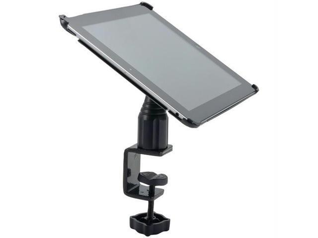 "Arkon IPM3-085 4"" Heavy-Duty Desk or Cart Mount with C-Clamp Base for Apple iPad"