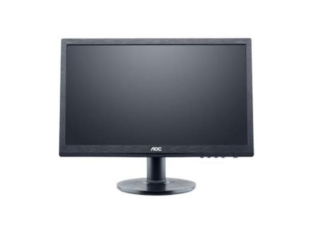 "AOC e960Sda Black 19"" 5ms Widescreen LED Backlight LCD Monitor built-in speakers"