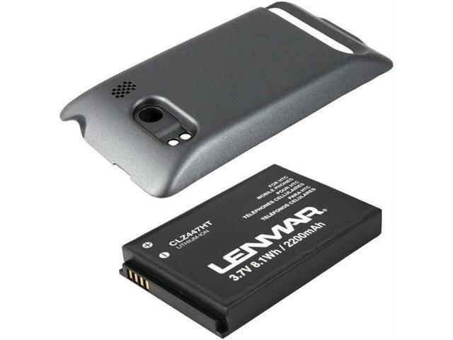 LENMAR 2200 mAh Extended Battery for HTC Evo 4G CLZ447HT