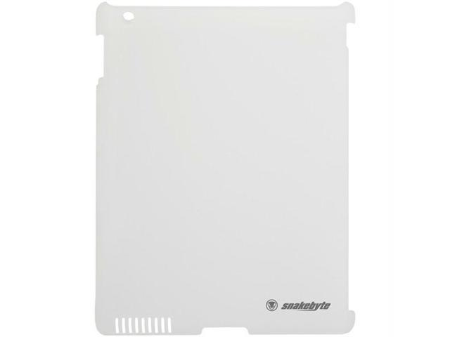 snakebyte SB00672 Protect Case for The New iPad White