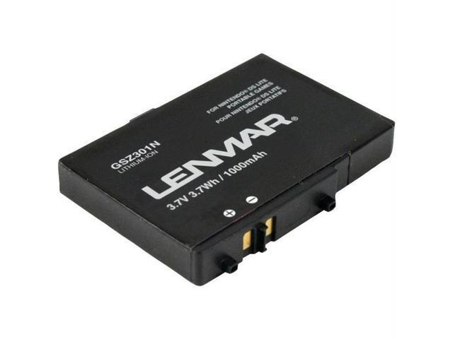 LENMAR GSZ301N Lenmar gsz301n replacement battery nintendo ds lite ds lite