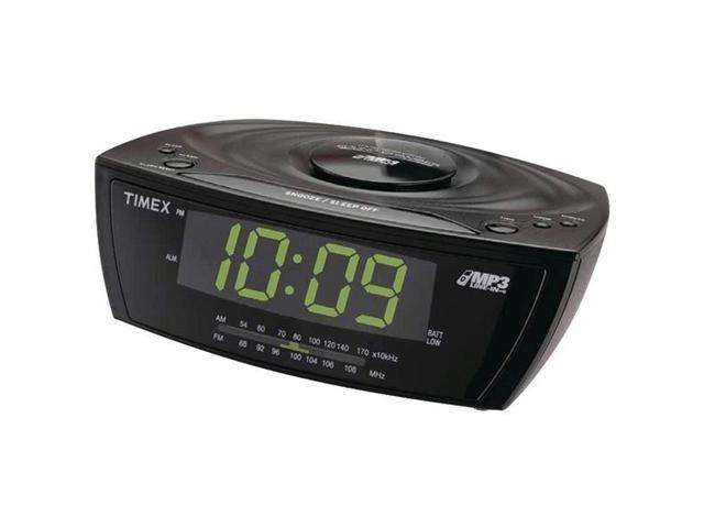 TIMEX T227B/Q Timex t227b/q large display alarm clock radio