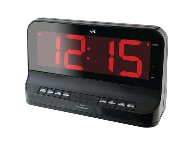 GPX C502B Gpx c502b dual alarm digital am/fm clock radio