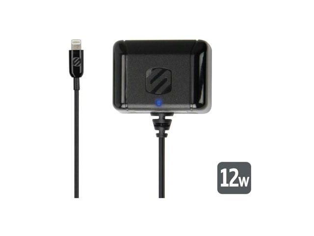 SCOSCHE I2H12 strikeBASE 12W Black Wall Charger for Lightning Devices