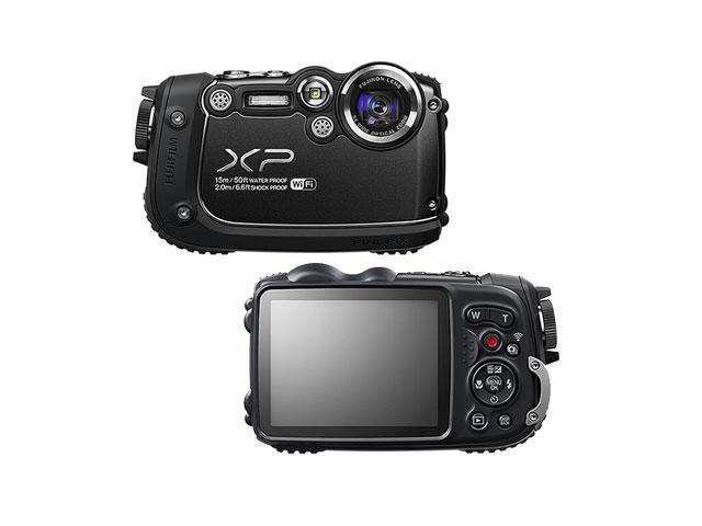 """FUJIFILM FinePix XP200 16316891 Black 16.4 MP 3.0"""" 920K Digital Camera"""